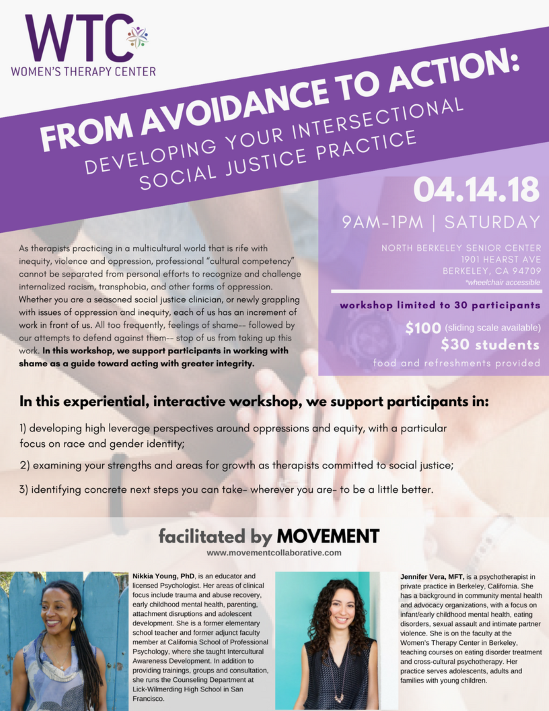 From Avoidance to Action: Developing your Intersectional Social